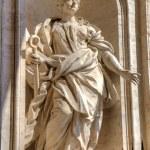 Statue in Saint Peters Basilica. Roma (Rome), Italy — Stock Photo