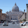 Saint Peters Basilica. Roma, Italy — Foto de Stock