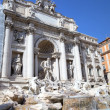 The Trevi Fountain. Roma (Rome), Italy — Stock Photo