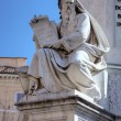 Fragment of Column of the Immaculate conception. Roma (Rome), Italy — Stock Photo #17834193