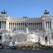 The Monumento Nazionale a Vittorio Emanuele II. Roma (Rome), Italy — Stock Photo