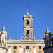 Palazzo Senatorio at Capitoline Hill. Roma (Rome), Italy — Stock Photo