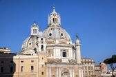 Santa Maria di Loreto. Roma (Rome), Italy — Stock Photo