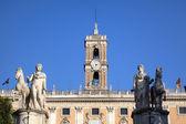 Palazzo Senatorio at Capitoline Hill. Roma (Rome), Italy — Stock Photo