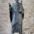 Statue of Saint Nicholas. — Stock Photo #17857721