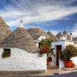 Trulli of Alberobello. - Stock Photo