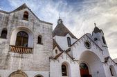 Chirch in Alberobello - Trulli village — Stock Photo