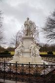 Statue of Johann Wolfgang von Goethe. Berlin, Germany — Stock Photo