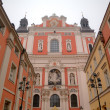 St. Maria Magdalena Collegiate Church.  Poznan, Poland — Stock Photo