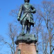 Monument to Peter the Great, the founder of Kronstadt, Russia — Stock Photo