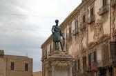 Monument av karl v - spansk kung av sicilien i palermo. sicilien, italien — Stockfoto
