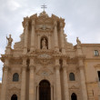 cathedral of siracusa.  sicily, italy — Stock Photo