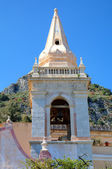 Church of San Giuseppe in Toarmina. Sicily, Italy — Stockfoto