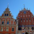 Stock Photo: House of Blackheads. Riga, Latvia