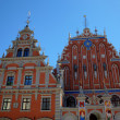 House of the Blackheads. Riga, Latvia — Stock Photo