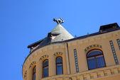 Cat House. Riga, Latvia — Stock Photo