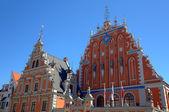 House of the Blackheads. Riga, Latvia — Stock Photo