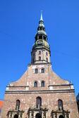 St. Peter's Cathedral. Riga, Latvia — Stock Photo