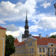 Old city. Tallinn, Estonia. — Stock Photo