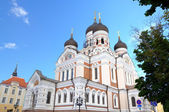 Alexander Nevsky Cathedral. Tallinn, Estonia — Stock Photo