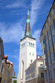St. Nicholas' Church (Niguliste Kirik). Tallinn, Estonia — Стоковое фото