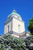 Kostel v suomenlinna (sveaborg). helsinky, finsko — Stock fotografie