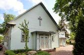 Kościół ewangelicko-augsburski nomm zbawiciela. tallinn, estonia — Zdjęcie stockowe