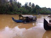 Каналы Кералы (Ковалам, Индия) - Kerala Backwaters (Kovalam, India) — 图库照片