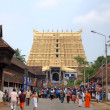 Sree Padmanabhaswamy Temple. Thiruvananthapuram (Trivandrum), Kerala, India — Stock Photo