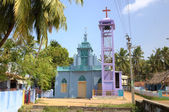 Catholic Church in Kanyakumari. Tamilnadu, India — Stockfoto