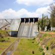 Neyyar dam - a gravity dam on the Neyyar River in Thiruvananthapuram district of Kerala, India. — Stock Photo