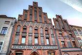 Nicolaus Copernicus house. Torun, Poland — Stock Photo