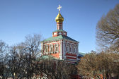 Novodevichy Convent. Moscow, Russia — Stock Photo