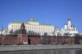 московский кремль. россия. — Стоковое фото