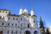 The Patriarch Palace and the Twelve Apostles Church. Moscow Kremlin, Russia — Stock Photo