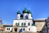 The Church of the Ascension of Christ and Presentation Church. Yaroslavl, Russia — Stock Photo