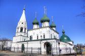 对这座城市的变容的教会。雅罗斯拉夫尔俄罗斯 — 图库照片