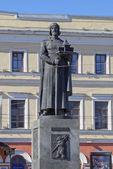 Monumento al fundador de yaroslavl - yaroslav el sabio — Foto de Stock
