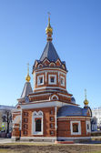 Chapel of St. Alexander Nevsky. Yaroslavl, Russia — Stock Photo