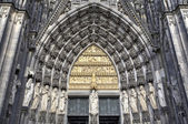 Decoration elements. Cologne cathedral, Germany — Stock Photo