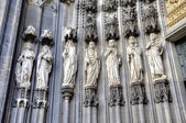 Éléments de décoration. Cathédrale de Cologne, Allemagne — Photo