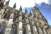 Notre-Dame de Reims Cathedral. Reims, France — Stock Photo