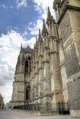 Notre-Dame de la catedral de Reims. Reims, Francia — Foto de Stock