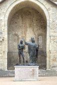 Epiphanie st remigy du roi hlodvig (1896). abbaye saint-remi. reims, france — Photo