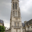 Saint Germain l'Auxerrois Church near Louvre Museum. Paris, France — Stock Photo