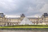 The Louvre Museum. Paris, France — Stock Photo