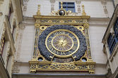 Astronomic clock at Rue du Gros-Horloge (1389). Rouen, France — Stock Photo
