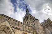 Abbey of Mont Saint Michel, Normandy, France — Stock Photo