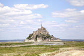 Abbey of Mont Saint Michel, Normandy, France — Stock Photo