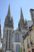 Cathedral of Quimper. France — Stock fotografie